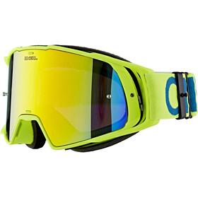 O'Neal B-20 Goggles, flat hi-viz/blue-radium